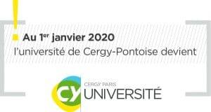 Le partenaire AFI24 : L'université de Cergy-Pontoise change de nom et devient CY Université