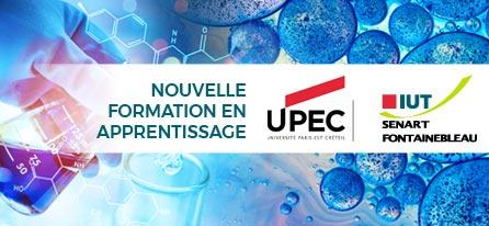 Nouveau : DUT Génie biologique Opt. Génie de l'Environnement IUT Sénart Fontainebleau