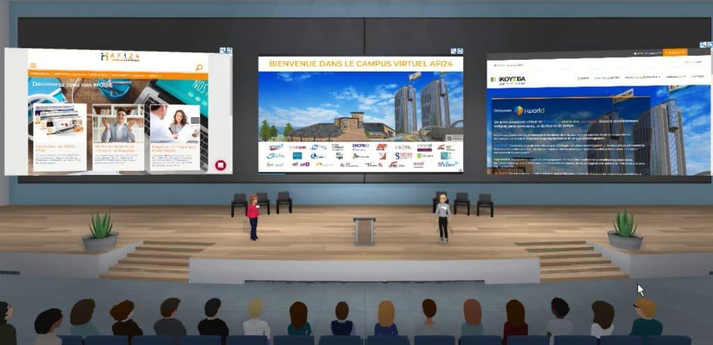 Découverte du campus virtuel AFI24 par les premiers 300 candidats de 2021