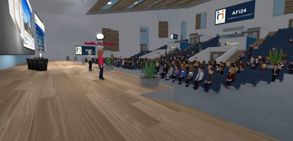 Conférence virtuel pour les premiers candidats AFI24 de 2021