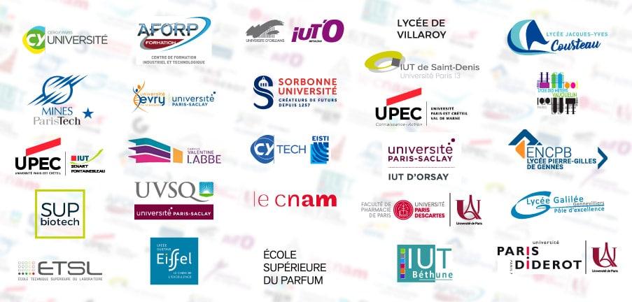 Les Universités partenaires AFi24